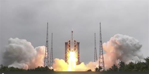 中国科技:空间站天和核心舱发射任务成功