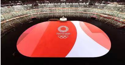 奥运会中国体育代表团闪亮入场 | 第32届夏季奥运会开幕式在东京奥林匹克体育场拉开帷幕