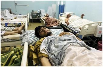 喀布尔机场袭击造成 60 名阿富汗人和 13 名美军丧生